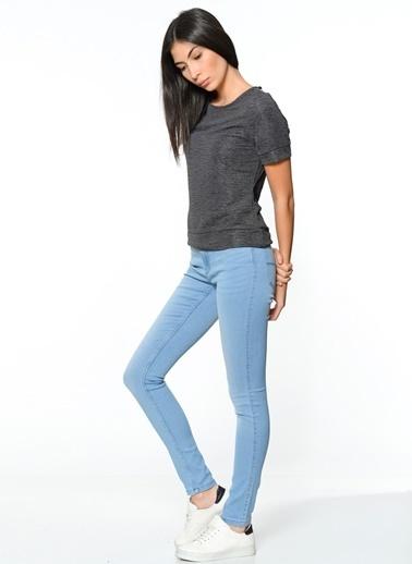 Sırt Dekolteli Bluz-Vero Moda